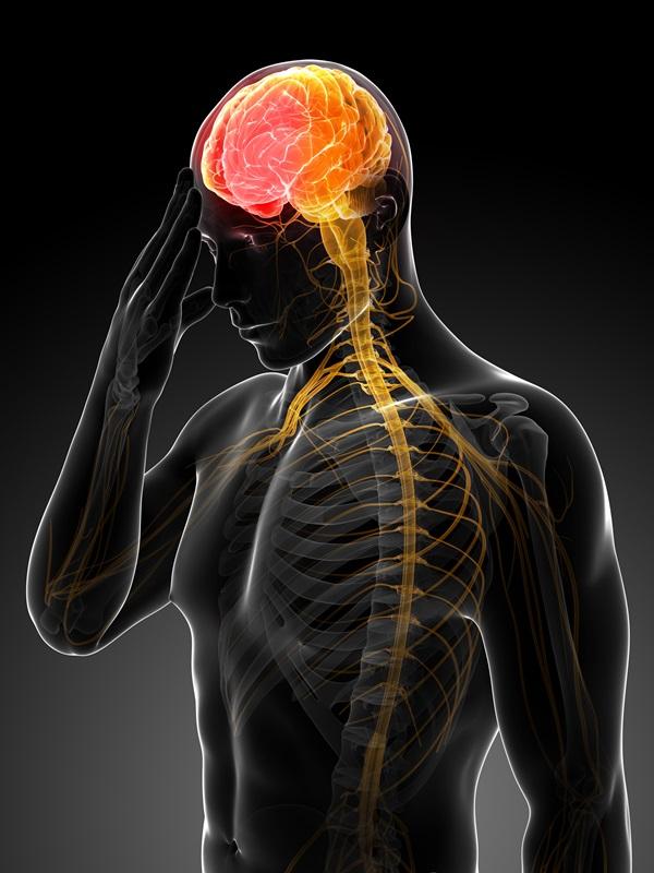 mózg udar