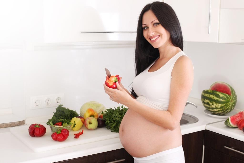 warzywa i owoce w ciąży