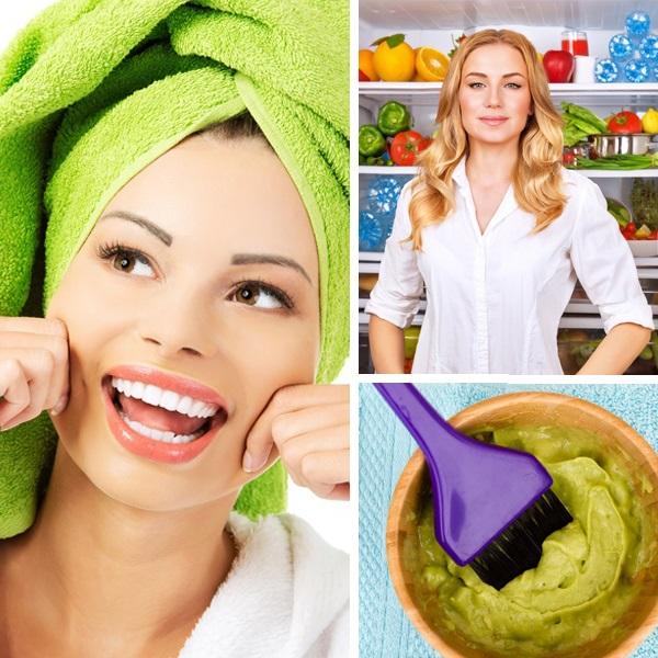 maski na włosy z produktów spożywczych
