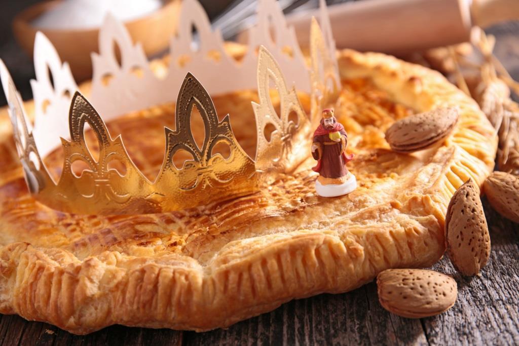 galette des rois na Trzech Króli