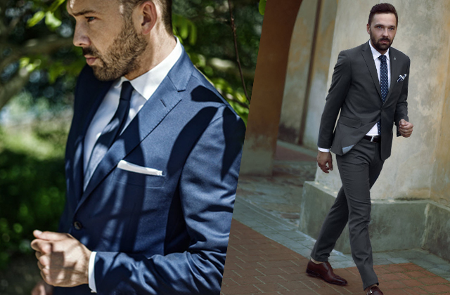 jak wybrać garnitur