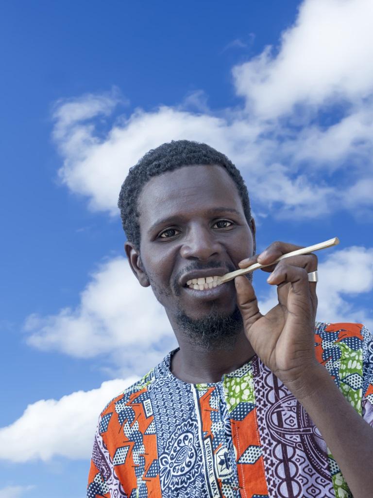 afrykańska nić dentystyczna