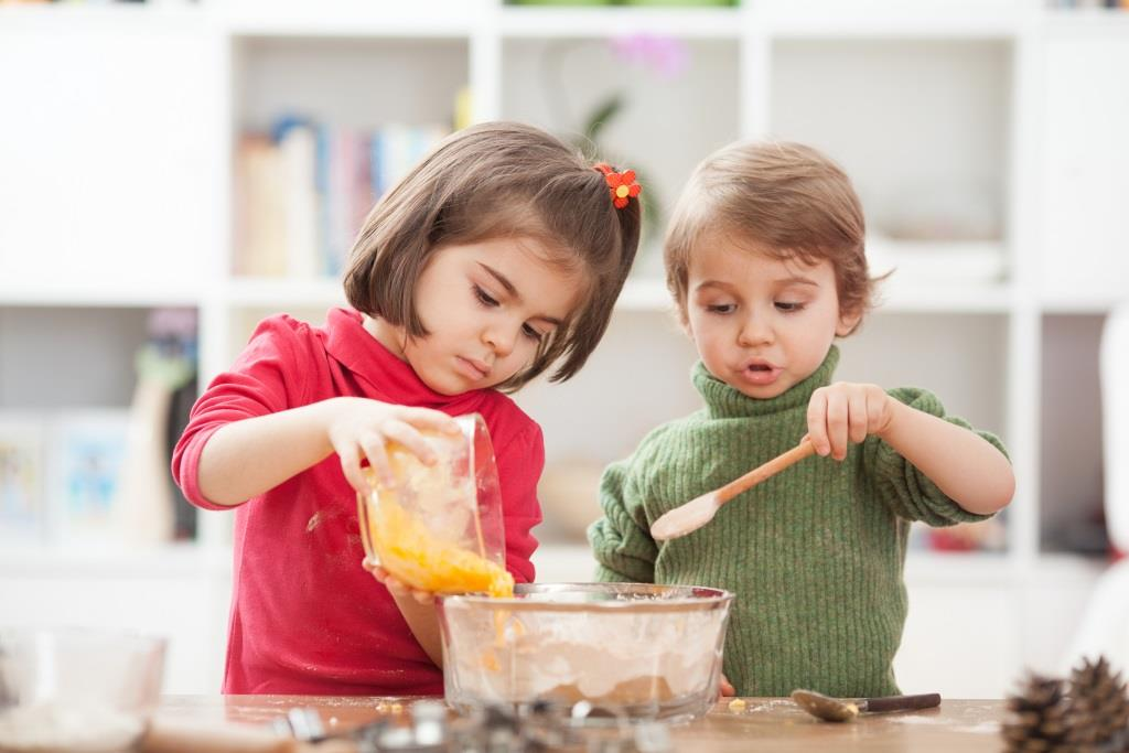 dzień dziecka w kuchni