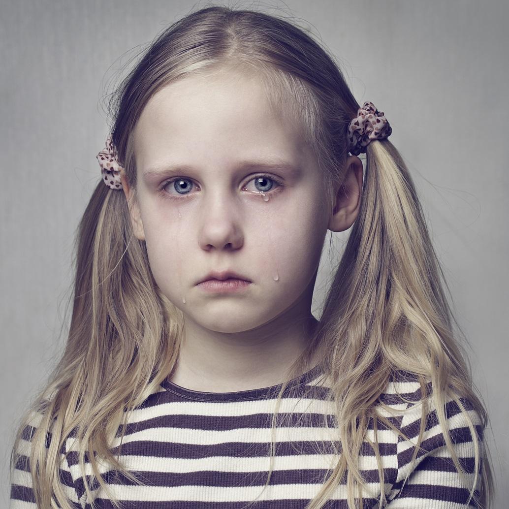smutek dziecka