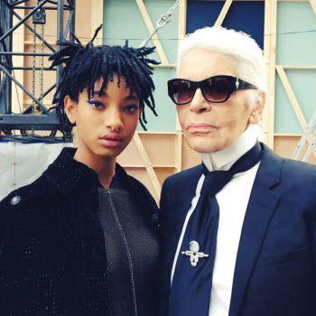 Willow Smith Karl Lagerfeld