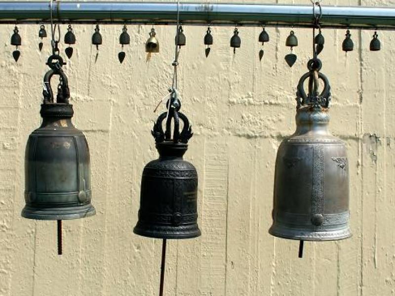 Dzwonki wietrzne pobudzają szczęście