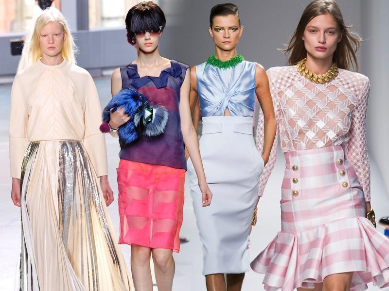 Hit! 5 najmodniejszych krojów spódnic na wiosnę 2014