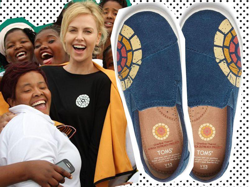 Charlize Theron x Toms