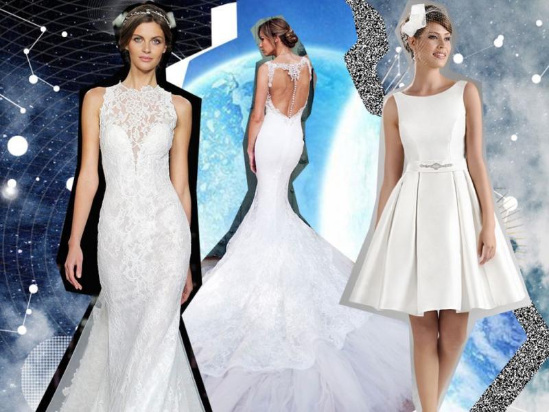 Aktualne Suknia ślubna a znak zodiaku - sprawdź która suknia pasuje do SE91