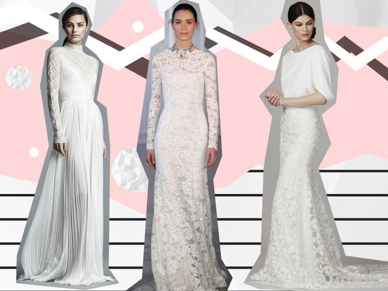 a91ff223eb To dlatego modna suknia ślubna 2017 powinna być wzbogacona o koronkę lub  błyskotki.