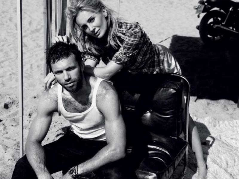 Tak Szulim pozowała z mężem w sesji dla Vivy kilka lat temu! Królewna i mistrz motoru