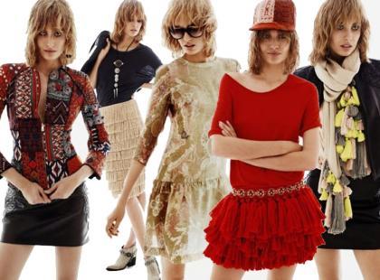 Zobacz wiosenny lookbook H&M w ruchu