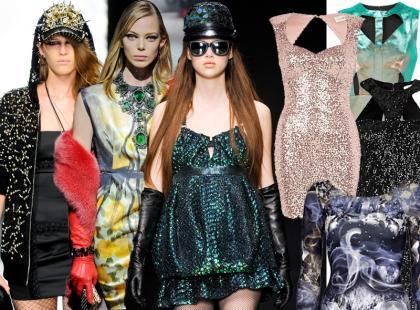 Sylwestrowe inspiracje z pokazów mody