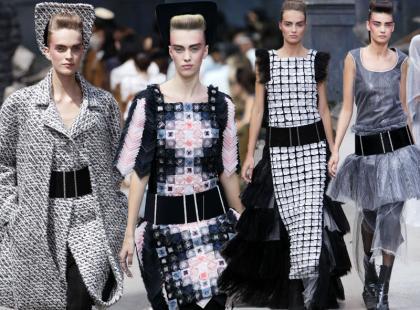 Jesienne haute couture od Chanel