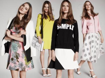 Wiosenna moda w Simple: sport, retro i minimalizm