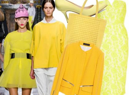 30 hitów z sieciówek w kolorze żółtym