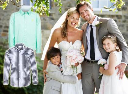 Przegląd 24 najmodniejszych koszul na wesele dla chłopca