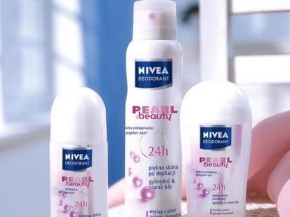 NIVEA Linia kosmetyków Pearl & Beauty