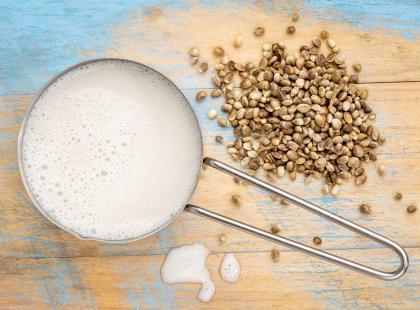 Superfood: mleko z nasion konopi!