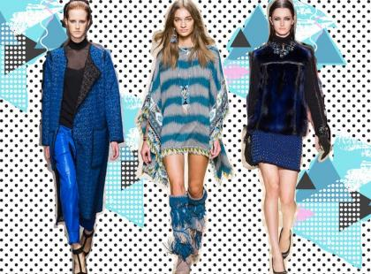 Niebieski zawsze jest trendy