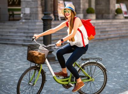 Poznaj korzyści z jazdy rowerem do pracy