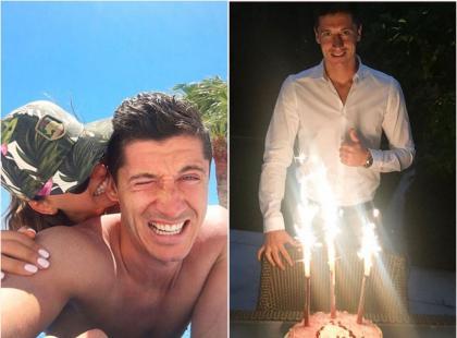 Robert Lewandowski pochwalił się, jak spędził urodziny. Fanów zaskoczyły jego słowa