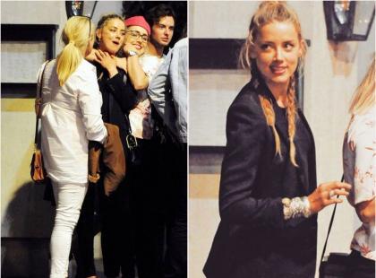 Amber Heard świętowała rozwód! Z Carą Delevigne i Margot Robbie