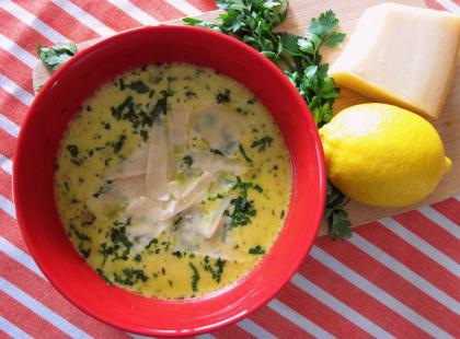 Zupa czosnkowa - Kasia gotuje z Polki.pl
