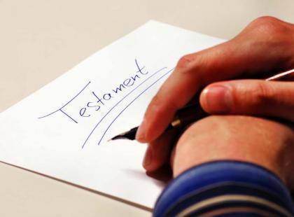 Testament – co w nim zapisać?