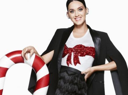 Piękna (jak zawsze), Katy Perry w świątecznej kampanii H&M