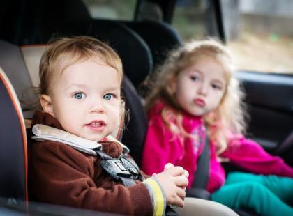 8 sposobów na chorobę lokomocyjną u dzieci