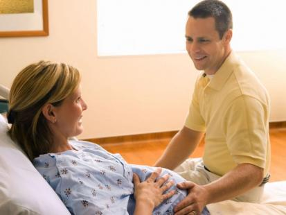 9 rad przed porodem