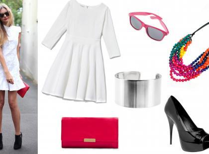 Jak nosić biel? - stylizacje z mody ulicznej