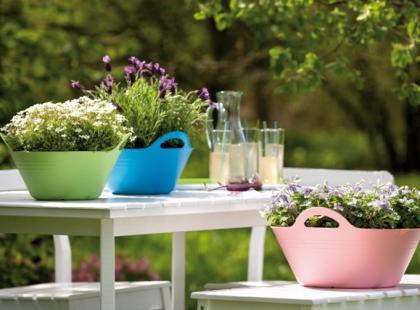 Donice ogrodowe w różnych stylach