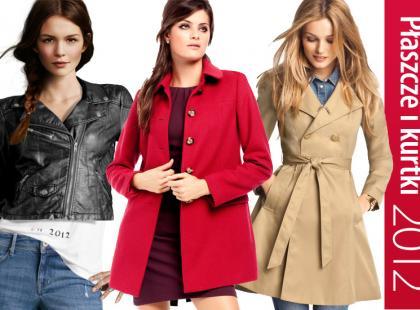 Nowe kolekcje - płaszcze i kurtki na jesień i zimę