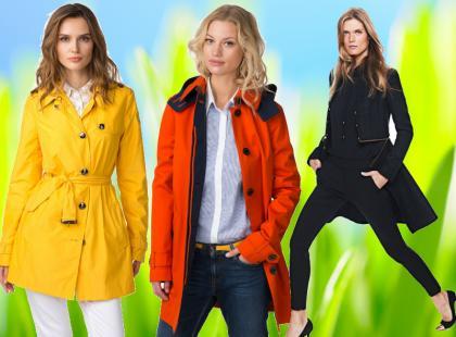Wiosenne płaszcze - najmodniejsze!