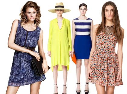 Nowe kolekcje - przegląd sukienek na wiosnę i lato 2013