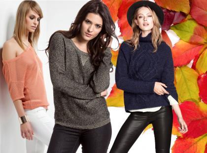 Swetry - kolekcje na jesień i zimę 2013/14
