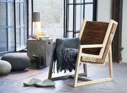 Ekologiczny fotel - DIY!