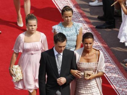 Goście na ślubie ksiecia Alberta i Charlene Wittstock