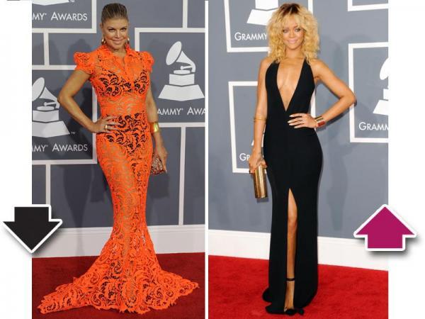Grammy 2012 Rihanna i Fergie