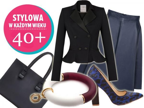 eec9f34a23 Zestawy ubraniowe dla kobiet 40+ - Jak się ubrać - Polki.pl