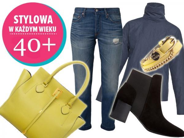 6774c41fce Zestawy ubraniowe dla kobiet 40+ - Jak się ubrać - Polki.pl