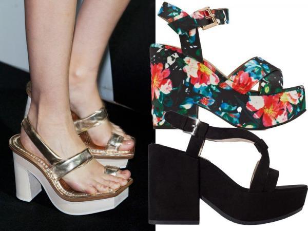 Modne buty, trendy wiosna-lato 2014