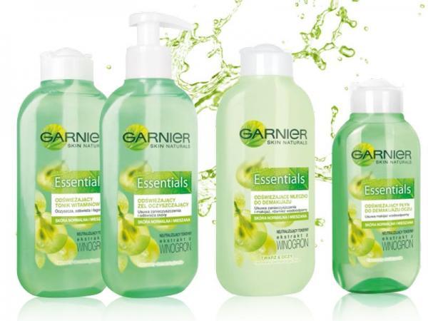 Garnier Essentials - linia zielona