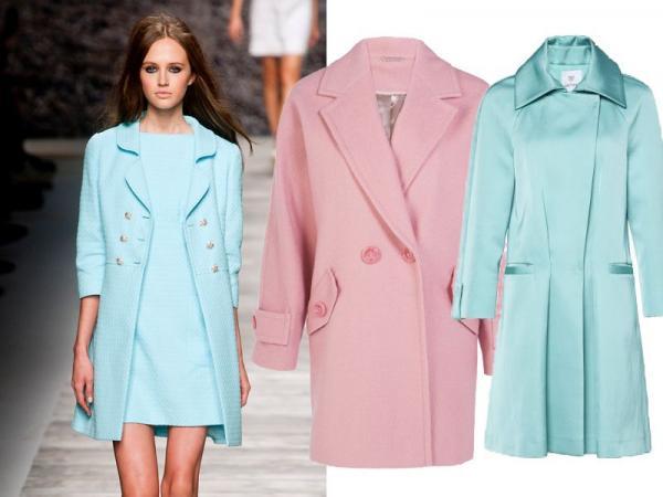 płaszcze wiosna-lato 2014