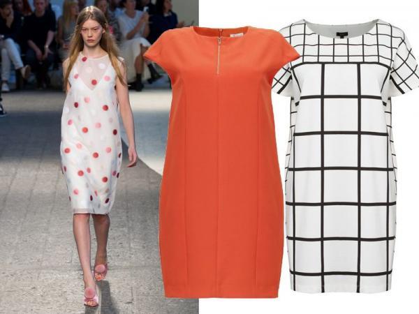 Modne sukienki wiosna-lato 2014, sukienki oversizeowe