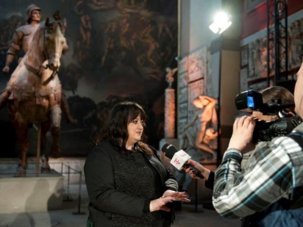 Pokaz Gosi Baczyńskiej w Paryżu - wywiad