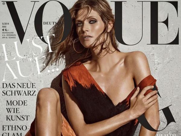 Małgosia Bela dla Vogue Deutsch