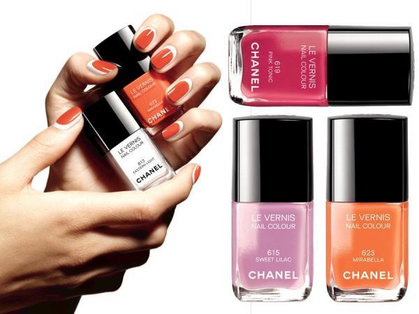 lakier do paznokci Chanel lato 2014